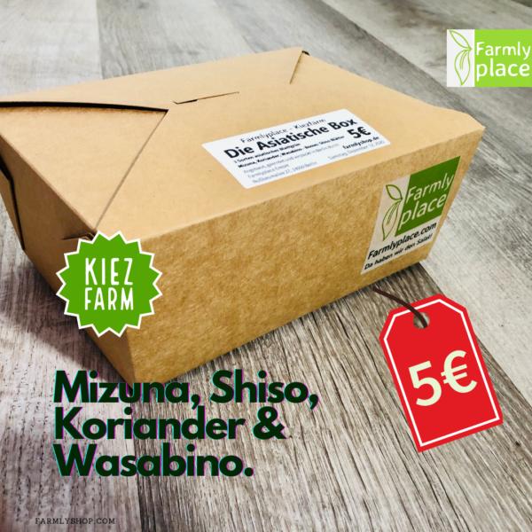 Kiezfarm - Asian Box mit Shiso
